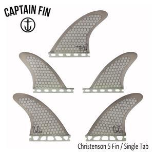 CAPTAIN FIN・キャプテンフィン/TRI-QUAD・5フィン/Christenson 5 Fin/SINGLE TAB/FUTURES・フューチャータイプ/CFF2212100/SMK・スモーク/Mサイズ/65-85kg|selfishsurf