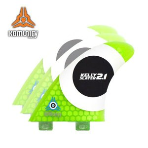 KOMUNITY PROJECT,コミュニティープロジェクト/FIN,トライフィン/K2.1,ケーツーワン/KELLY SLATER FIN,ケリースレーターフィン/FCSタイプ/ハニカムグリーン|selfishsurf