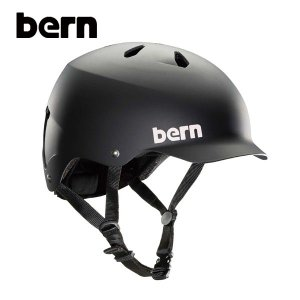 BERN,バーン/ヘルメット/MENS・メンズ(大人用)/オールシーズン対応/WATTS/MATTE BLACK・マットブラック/XL・XXLサイズ|selfishsurf