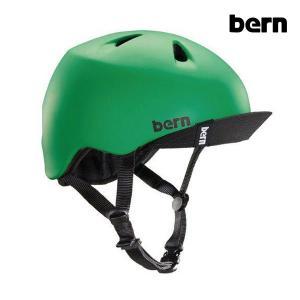 【ポイント10倍】BERN,バーン/ヘルメット/KIDS・キッズ(子供用)/オールシーズン対応/NINO/MATTE KELLY GREEN VISOR・マットグリーン/XS-S・S-Mサイズ|selfishsurf