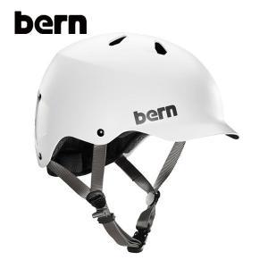 BERN,バーン/ヘルメット/MENS・メンズ(大人用)/オールシーズン対応/WATTS/SATIN WHITE・サテンホワイト/XL・XXLサイズ|selfishsurf