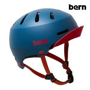 BERN,バーン/ヘルメット/MENS・メンズ(大人用)/オールシーズン対応/MACON VISOR 2.0/MATTE NAVY・マットネイビー/自転車/スケート|selfishsurf