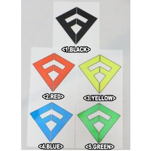 FREAK,フリーク/ステッカー/ICONロゴ/9×10cm/5カラーからお選びください/アイコン/ロゴ/ネオンカラー/サーフィン selfishsurf