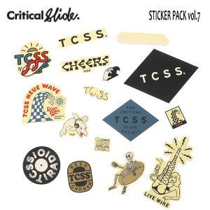 TCSS,ティーシーエスエス/ステッカーパック/TCSS STICKER PACK・ASTICK17B/16枚入り/Vol.5|selfishsurf