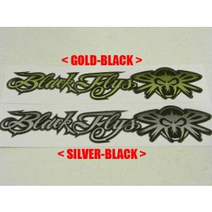 BLACKFLYS,ブラックフライ/カッティングステッカー/PHANTOM&FLY LOGO STICKER