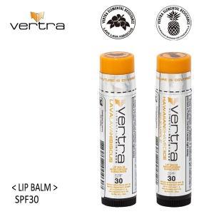 vertra,バートラ/リップクリーム/日焼け止め/SPF30 PA+++・Clear/ウォータープルーフ/クリア/透明/リーフセーフ/ハワイ|selfishsurf