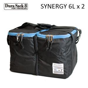 DURA SACK 8,デュラサック8/保温ケース付きポリタンク/SYNERGY/6Lタンク×2個/BLACK・ブラック/保温/保冷/セパレートタイプ|selfishsurf