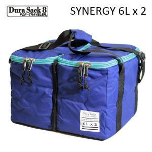 DURA SACK 8,デュラサック8/保温ケース付きポリタンク/SYNERGY/6Lタンク×2個/NAVY・ネイビー/保温/保冷/セパレートタイプ|selfishsurf