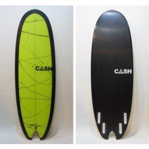 "CASH SURFBOARDS・キャッシュサーフボード/最新NEWモデル・NOTCHモデル/QUAD・4フィン/5'6""(167.64cm)-51.44cm-6.67cm/FUTUREフィンタイプ selfishsurf"