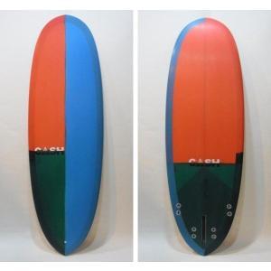 "CASH SURFBOARDS・キャッシュサーフボード/POCKETモデル・High Performance Hull/5プラグ・BOX+FCS:QUAD/5'8""(172.72cm)-53.34cm-6.77cm/BOX+FCSフィンタイプ selfishsurf"