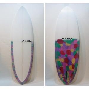 "CASH SURFBOARDS/ZPモデル・Moden High Performance/5プラグ・BOX+FCS:QUAD/5'10""(177.80cm)-50.8cm-6.35cm/BOX+FCS FINボックスタイプ selfishsurf"