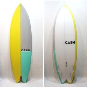 "CASH SURFBOARDS・キャッシュサーフボード/247モデル・High Performance Quad Fin Fish/QUAD・4フィン/6'0""(182.88cm)-50.17cm-6.03cm/FUTUREフィンタイプ selfishsurf"