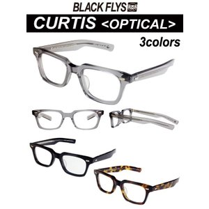 BLACKFLYS,ブラックフライ/眼鏡専用・OPTICAL LINE/2017年NEWモデル/CURTIS・カーティス/BF-20001/3カラーからお選びください/HAND MADE IN JAPAN|selfishsurf