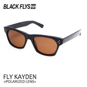 BLACKFLYS,ブラックフライ/19/FLY KAYDEN Polarizedレンズ,フライケイデン 偏光レンズ/BF-1225-06/MATTE BLACK/BROWN POL/サングラス|selfishsurf