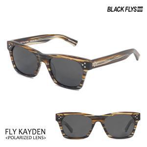 BLACKFLYS,ブラックフライ/19/FLY KAYDEN Polarizedレンズ,フライケイデン 偏光レンズ/BF-1225-08/BROWN STRIPE/GREY POL/サングラス|selfishsurf