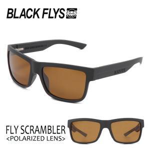 BLACKFLYS,ブラックフライ/18/FLY SCRAMBLER Polarizedレンズ,フライスクランブラー 偏光レンズ/BF-1196-08/MAT BLACK/BROWN POL/サングラス|selfishsurf