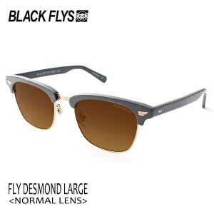 BLACKFLYS,ブラックフライ/19/FLY DESMOND LARGE,フライデズモンドラージ ノーマルレンズ/BF-13842-04/SOLID GREY-GOLD/BROWN/サングラス/2ベースレンズ|selfishsurf
