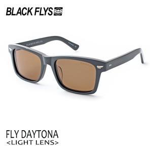 BLACKFLYS,ブラックフライ/19/FLY DAYTONA,フライデイトナ ノーマルレンズ/BF-1198-02/SOLID GREY/LIGHT BROWN/サングラス/ユニセックス/ウェリントン|selfishsurf