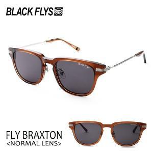 BLACKFLYS,ブラックフライ/19/FLY BRAXTON,フライブラクストン ノーマルレンズ/BF-15506-04/C.BROWN-SILVER/GREY/サングラス/ユニセックス/ウェリントン|selfishsurf