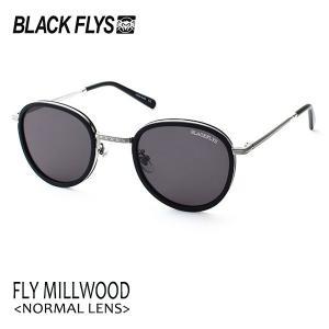 BLACKFLYS,ブラックフライ/19/FLY MILLWOOD,フライミルウッド ノーマルレンズ/BF-1601-01/MATTE BLACK-SILVER/GREY/サングラス/ユニセックス/|selfishsurf