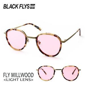 BLACKFLYS,ブラックフライ/19/FLY MILLWOOD,フライミルウッド ノーマルレンズ/BF-1601-04/MATTE HAVANA-GOLD/PINK/サングラス/ユニセックス/|selfishsurf