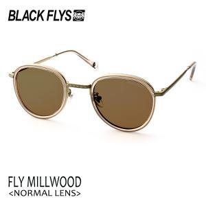 BLACKFLYS,ブラックフライ/19/FLY MILLWOOD,フライミルウッド ノーマルレンズ/BF-1601-05/C.BEIGE-GOLD/BROWN/サングラス/ユニセックス/|selfishsurf