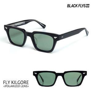 BLACKFLYS,ブラックフライ/21/FLY KILGORE Plarized/フライキルゴア偏光レンズ/BF-1410-05/BLACK/LT GREEN POL/サングラス/バイカー/メンズ/7SPOT|selfishsurf