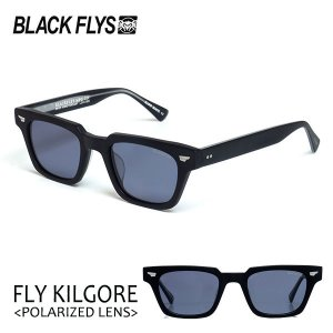 BLACKFLYS,ブラックフライ/21/FLY KILGORE Plarized/フライキルゴア偏光レンズ/BF-1410-06/MAT BLACK/PURPLE POL/サングラス/バイカー/メンズ/7SPOT|selfishsurf