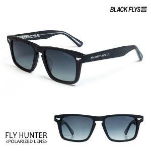 BLACKFLYS,ブラックフライ/21/FLY HUNTER Polarized,フライハンター偏光レンズ/BF-1254-06/MAT BLACK/GREY GR POL/ウェリントン/サングラス/7SPOT|selfishsurf