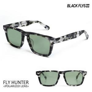 BLACKFLYS,ブラックフライ/21/FLY HUNTER Polarized,フライハンター偏光レンズ/BF-1254-07/MT BLACK HAVANA/LT GREEN POL/ウェリントン/サングラス/7SPOT|selfishsurf