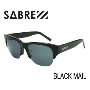 SABRE,セイバー/サングラス/2015年SPRING新作/BLACK MAIL・ブラックメール/SV236-11J/GROSS BLACK×GREY LENS selfishsurf