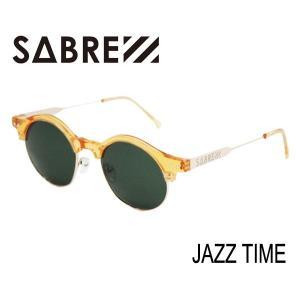 SABRE,セイバー/2015年WINTER新作/JAZZ TIME・SV254-218J/CLEAR ORANGE-GOLD/GREEN LENS selfishsurf