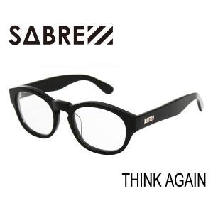 SABRE,セイバー/サングラス/THINK AGAIN・SV256-112J/BLACK/CLEAR LENS /クリアレンズ selfishsurf