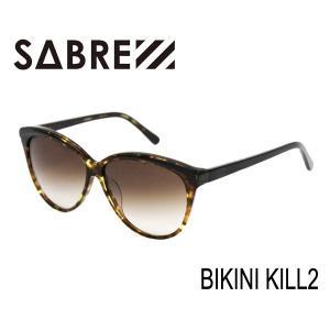 SABRE,セイバー/サングラス/BIKINI KILL II・SV258-2194J/CAMEL TORTOISE-BLACK/BRONZE FADE LENS selfishsurf