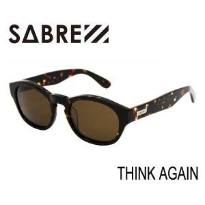SABRE,セイバー/サングラス/THINK AGAIN・SV256-23J/DARK TORTOISE/BRONZE LENS selfishsurf