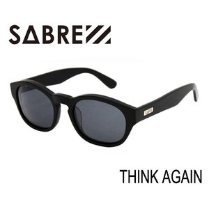 SABRE,セイバー/サングラス/THINK AGAIN・SV256-71J/MATTE BLACK/GREY LENS selfishsurf