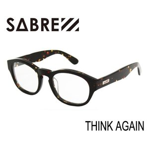 SABRE,セイバー/サングラス/THINK AGAIN・SV256-212J/DARK TORTOISE/CLEAR LENS/クリアレンズ selfishsurf