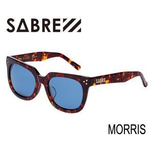 SABRE,セイバー/サングラス/2016年SUMMER新作/MORRIS・SV268-27J/TORTOISE/BLUE LENS|selfishsurf