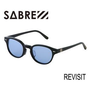 SABRE,セイバー/サングラス/2017年SPRING/REVISIT・リビジット/SV277-137J/BLACK/LIGHT BLUE LENS/ライトレンズ|selfishsurf