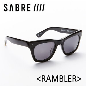 SABRE,セイバー/サングラス/2017年SUMMER/RAMBLER・ランブラー/SS6-501B-G-J/BLACK GLOSS/GREY LENS|selfishsurf
