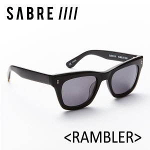 SABRE,セイバー/サングラス/2017年SUMMER/RAMBLER・ランブラー/SS6-501MB-G-J/MATTE BLACK/GREY LENS|selfishsurf