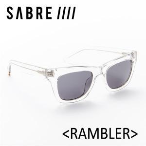 SABRE,セイバー/サングラス/2017年SUMMER/RAMBLER・ランブラー/SS6-501CR-G-J/CRYSTAL/GREY LENS|selfishsurf