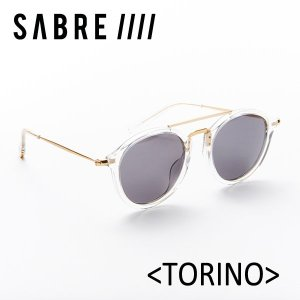 SABRE,セイバー/サングラス/2017年SUMMER/TORINO・トリノ/SS6-505CR-G-J/CRYSTAL/GREY LENS|selfishsurf
