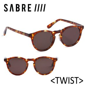 SABRE,セイバー/サングラス/17FA/TWIST・ツイスト/SS7-502T-BR-J/TORTOISE/BRONZE LENS|selfishsurf