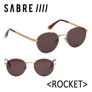 SABRE,セイバー/サングラス/17FA/ROCKET・ロケット/SS7-503GM-TBR-J/GOLD METAL/TORTOISE/BRONZE|selfishsurf
