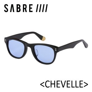 SABRE,セイバー/サングラス/18SU/CHEVELLE・SS8-501B-LB-J BLACK GLOSS/LIGHT BLUE/ウエリントン|selfishsurf