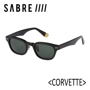 SABRE,セイバー/サングラス/18FA/CORVETTE・SS8-505B-GRN-J/BLACK GLOSS/GREEN|selfishsurf