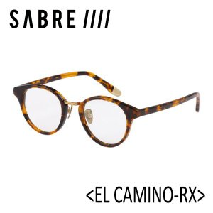 SABRE,セイバー/眼鏡/18FA/EL CAMINO-RX・エルカミーノ/SS7-508T-CL-J/TORTOISE/CLEAR LENS|selfishsurf