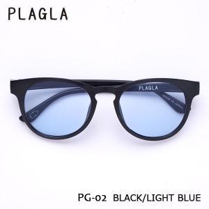 PLAGLA,プラグラ/サングラス/21SU/PG02BK-LB/BLACK/LIGHT BLUE/ラウンド/サステナブル/リサイクル/ライトレンズ/ユニセックス|selfishsurf