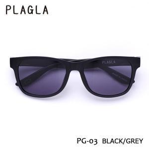 PLAGLA,プラグラ/サングラス/21SU/PG03BK-GY/BLACK/GREY/ウェリントン/サステナブル/リサイクル/ユニセックス|selfishsurf